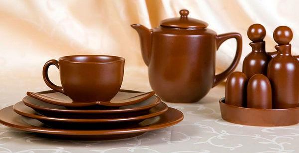 Керамическая посуда для кофейни