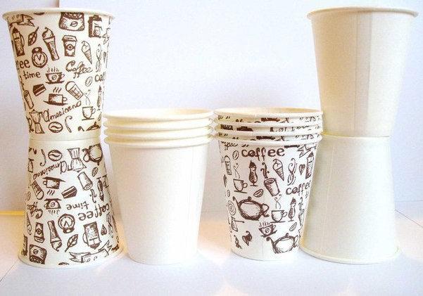 Оборудование для производства бумажных стаканов для кофе